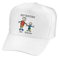 Personalized Best Buddies and Daddy's Little Girl Hat