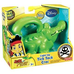 Jake and the Never Land Pirates Light-Up Tick Tock Croc Toy