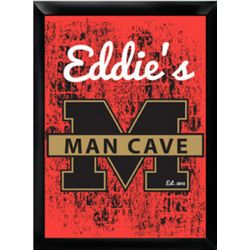 Stadium Man Cave Framed Pub Sign