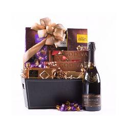 Roederer Estate L'Ermitage and Godiva Connoisseur Gift Basket