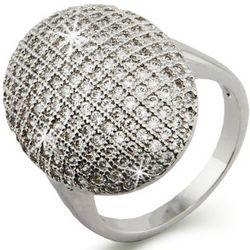 Twilight Inspired Glistening CZ Engagement Ring