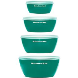 Deep Teal Set of 4 Prep Bowls
