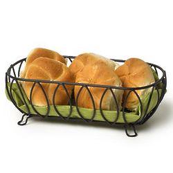 Leaf Motif Bread Basket