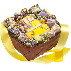 Birthday Cookies Gift Basket