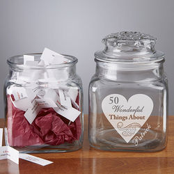 Personalized Romantic Love Notes Jar