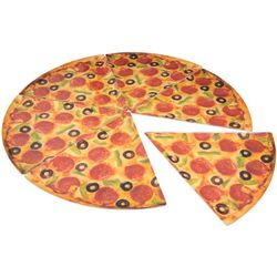 Set of 6 Pizza Supreme Plates