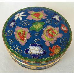 Enamel Feng Shui Jewelry Box