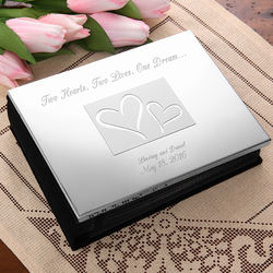 Love Ever After Silver Photo Album
