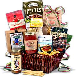 Table in Tuscany Italian Gift Basket
