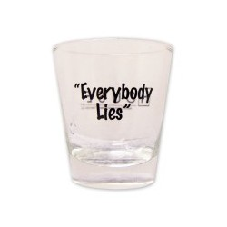 "House ""Everybody Lies"" Shotglass"