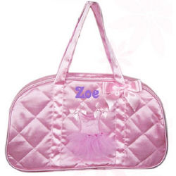 Personalized Pink Ballerina Dance Bag