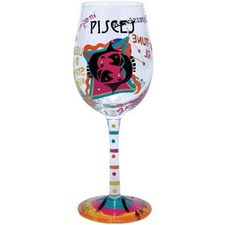 Pisces Wine Glass