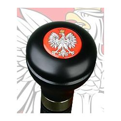 Polish Eagle Flask Walking Stick