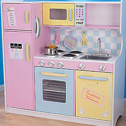 Personalized Girl's Play Kitchen