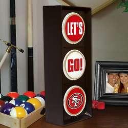 San Francisco 49ers Let's Go Traffic Light