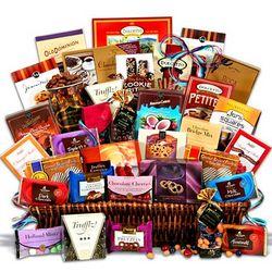 Sweet DecadenceJumbo Chocolate Gift Basket