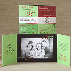 Personalized Memories and Family Photo Christmas Cards