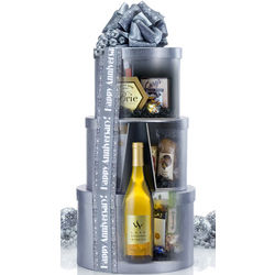 Secret Sommelier White Wine Gift Tower