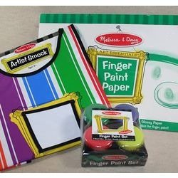 Finger Paint Gift Set