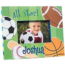 Kid's Personalized Sports Frame