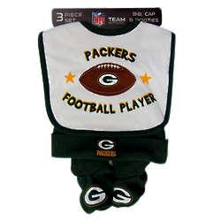 Packers Newborn 3 Piece Set