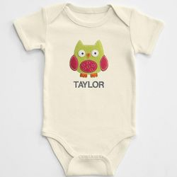Baby Character Patch Bodysuit