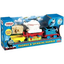 Thomas the Tank Engine and Spinning Harold Toy