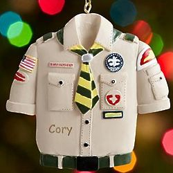 Personalized Boy Scouts Ornament