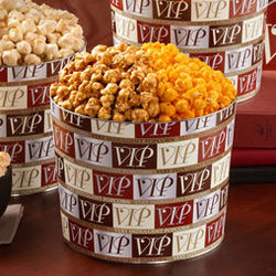 Very Indulgent Popcorn (VIP) Tin