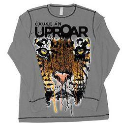 Tiger Cause An Uproar Long-Sleeve T- Shirt