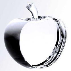Teacher's Pet Crystal Apple Award