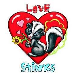 Love Stinks Adult T-Shirt