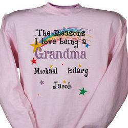 Reasons I Love Personalized Sweatshirt