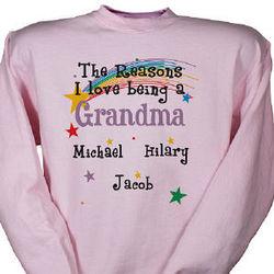 Reasons I Love Personalized Sweatshirt