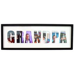 Grandpa cutout letters frame findgift grandpa cutout letters frame spiritdancerdesigns Gallery