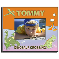 Personalized Dinosaur Picture Frame