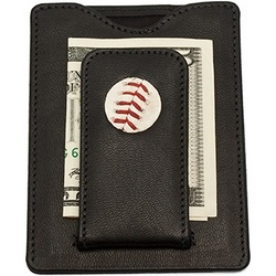 Los Angeles Dodgers MLB Baseball Stitch Money Clip Wallet