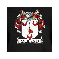 Mullen Coat of Arms Women's V-Neck T-Shirt