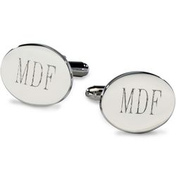 Sophisticated Oval Cufflinks