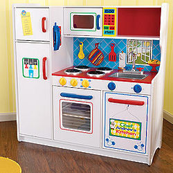 Personalized Boy's Play Kitchen