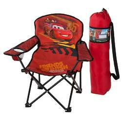 Disney Pixar Cars 2 Team Lightning Mcqueen Folding Chair