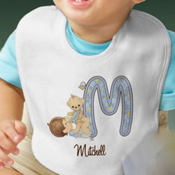 Precious Moments Personalized Baby Bib
