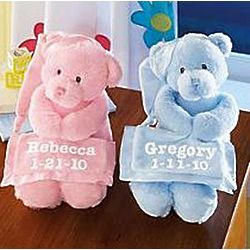 Personalized Musical Plush Bears