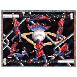 Ultimate Fastpitch Tapestry Throw