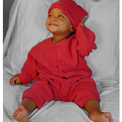 Zutano Fleece Cozie Zutsuit and Hat Set