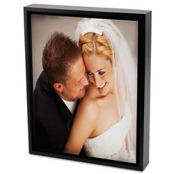 Color Photo to Canvas Art with Float Picture Frame