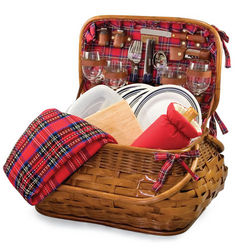 Highlander Picnic Basket for Four