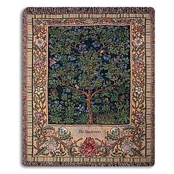 Tapestry Family Tree Throw