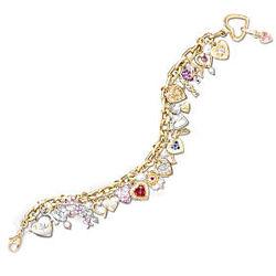 Ultimate Love Heart Charm Bracelet