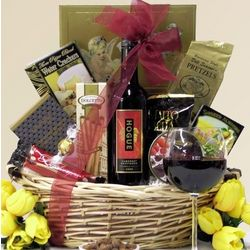 Father's Day Gourmet and Wine Gift Basket